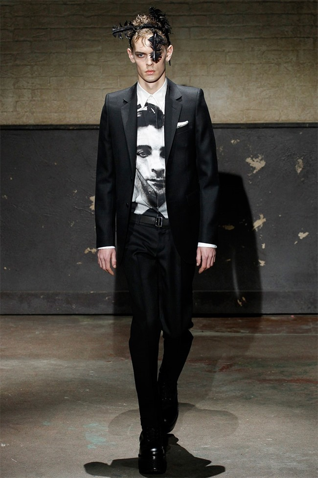 LONDON COLLECTIONS MEN- Alexander McQueen Fall 2014. www.imageamplified.com, Image Amplified (3)