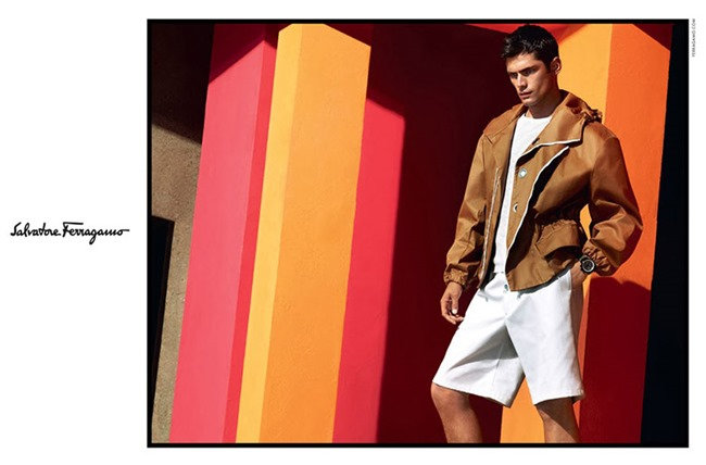 CAMPAIGN Sean O'Pry for Salvatore Ferragamo Spring 2014 by Mert & Marcus. www.imageamplified.com, Image Amplified (1)