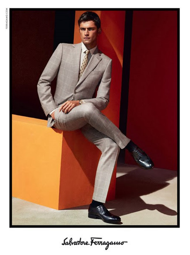 CAMPAIGN Sean O'Pry for Salvatore Ferragamo Spring 2014 by Mert & Marcus. www.imageamplified.com, Image Amplified (10)