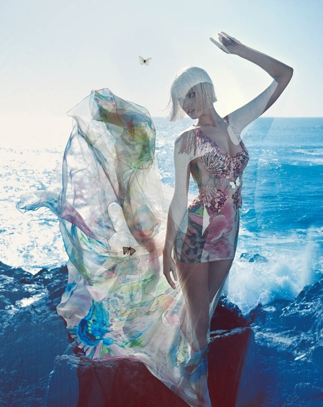 CAMPAIGN Toni Garrn for Blumarine Spring 2014 by Camilla Akrans. www.imageamplified.com, Image amplified (4)