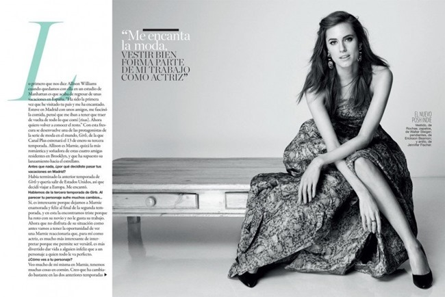 GLAMOUR SPAIN Allison Williams by Blossom Berkofsky. Maria Parra, February 2014, www.imageamplified.com, Image amplified (6)