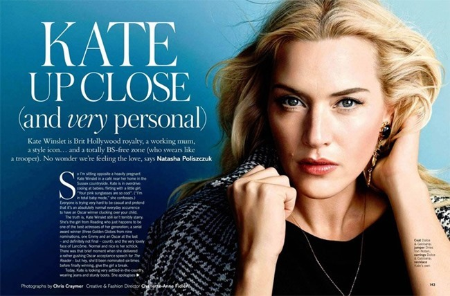 GLAMOUR UK Kate Winslet by Chris Craymer. Charlotte Anne Fidler, February 2014, www.imageamplified.com, Image amplified (1)