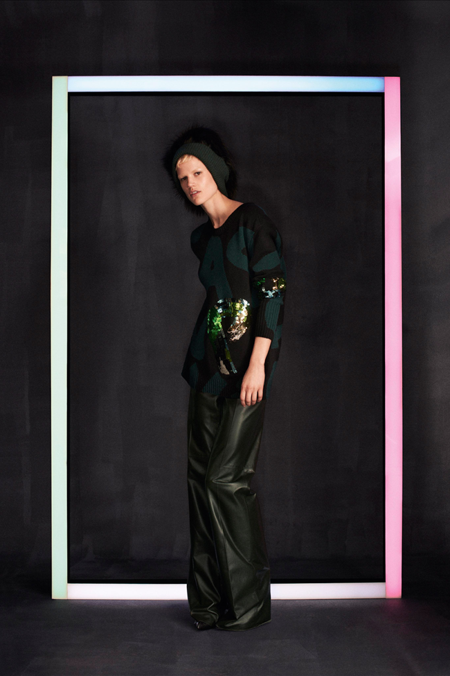 COLLECTION Saskia De Brauw, Kati Nescher & Marine Deleuw for Loui Vuitton Pre-Fall 2014. www.imageamplified.com, Image Amplified (1)