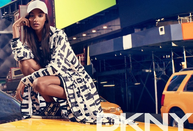 CAMPAIGN Cara Delevigne, Jourdan Dunn, Eliza Cummings & ASAP Rocky for DKNY Summer 2014. www.imageamplified.com, Image Amplified (6)
