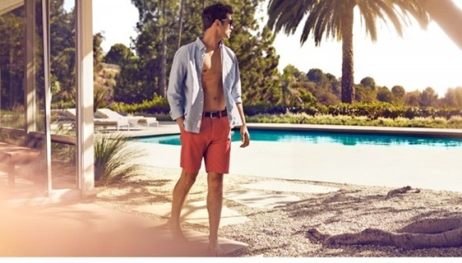 H&M MAGAZINE Sean O'Pry in Sunny Getaway for H&M Spring 2014. www.imageamplified.com, Image Amplified (2)