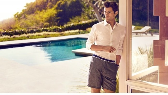 H&M MAGAZINE Sean O'Pry in Sunny Getaway for H&M Spring 2014. www.imageamplified.com, Image Amplified (6)