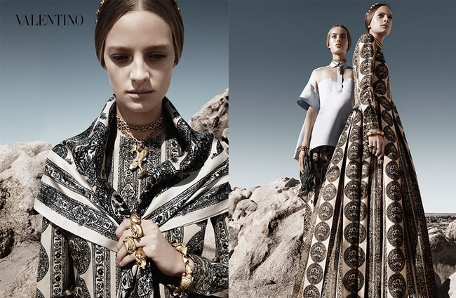 CAMPAIGN Malaika Firth, Auguste Abeliunaite, Ine Neefs, Esther Heesch & Maartje Verhoef for Valentino Spring 2014 by Craig McDean. Karl Templer, www.imageamplified.com, Image Amplified (12)