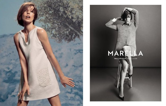 CAMPAIGN Milla Jovovich for Marella Spring 2014 by Inez & Vinoodh. www.imageamplified.com, image Amplified (4)