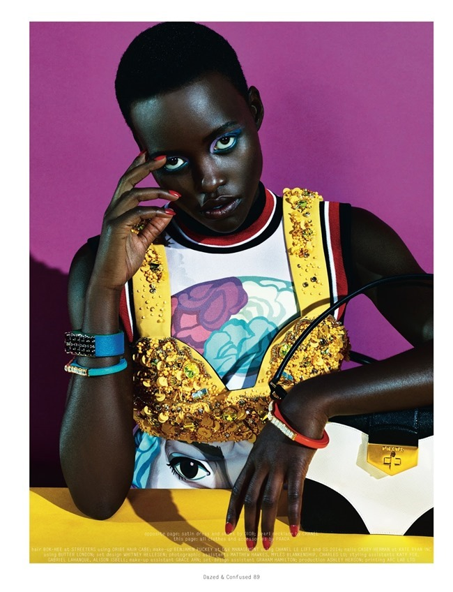 DAZED & CONFUSED MAGAZINE Lupita Nyong'o in Free Spirit by Sharif Hamza. Robbie Spencer, February 2014, www.imageamplified.com, Image Amplified (9)