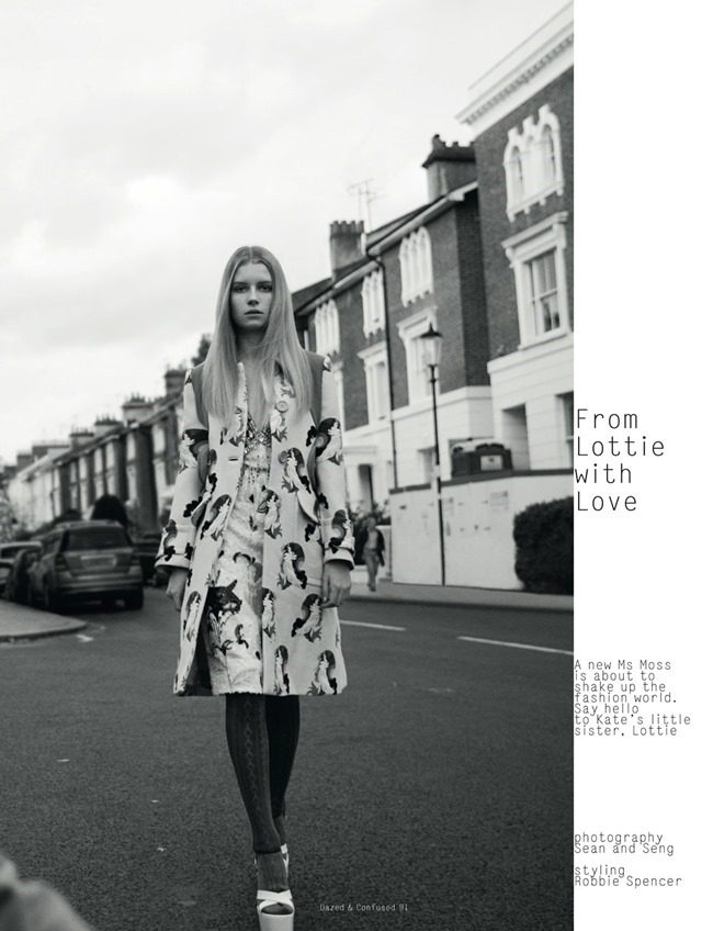 DAZED & CONFUSED MAGAZINE Lottie Moss in From Lottie With Love by Sean & Seng. Robbie Spencer, February 2014, www.imageamplified.com, Image Amplified (2)