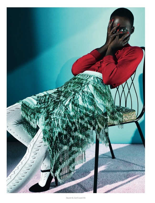 DAZED & CONFUSED MAGAZINE Lupita Nyong'o in Free Spirit by Sharif Hamza. Robbie Spencer, February 2014, www.imageamplified.com, Image Amplified (4)