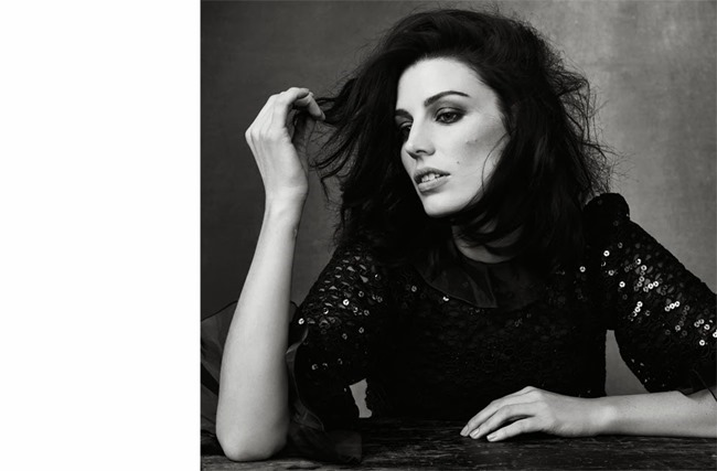 THE EDIT MAGAZINE Jessica Pare, Lena Headey, Morena Baccarin & Anna Gunn in Drama Queens by Bjorn Looss. Tracy Taylor, January 2014, www.imageamplified.com, Image Amplified (1)