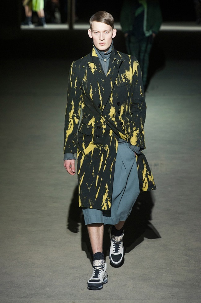 PARIS FASHION WEEK Dries Van Noten Menswear Fall 2014. www.imageamplified.com, Image Amplified (1)