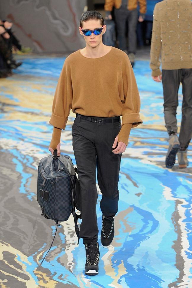 PARIS FASHION WEEK Louis Vuitton Menswear Fall 2014. www.imageamplified.com, Image Amplified (32)