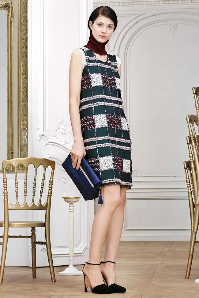 COLLECTION Sasha Luss, Larissa Hofmann, Katlin Aas & Ashleigh Good for Christian Dior Pre-Fall 2014. www.imageamplified.com, Image Amplified (3)
