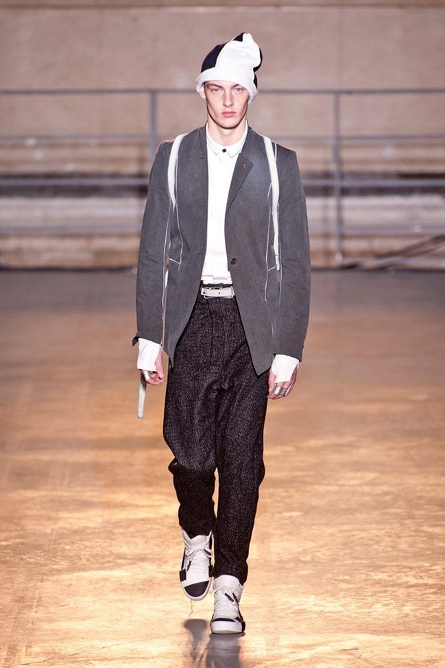 PARIS FASHION WEEK Boris Bidjan Saberi Menswear Fall 2014. www.imageamplified.com, Image Amplified (1)