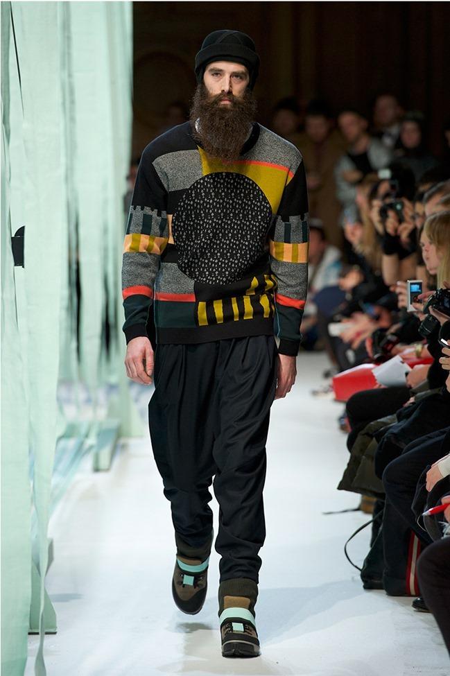 PARIS FASHION WEEK Henrik Vibskov Menswear Fall 2014. www.imageamplified.com, Image Amplified (2)