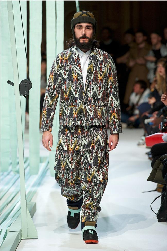 PARIS FASHION WEEK Henrik Vibskov Menswear Fall 2014. www.imageamplified.com, Image Amplified (5)