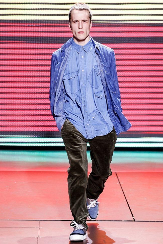PARIS FASHION WEEK Julien David Menswear Fall 2014. www.imageamplified.com, Image Amplified (3)