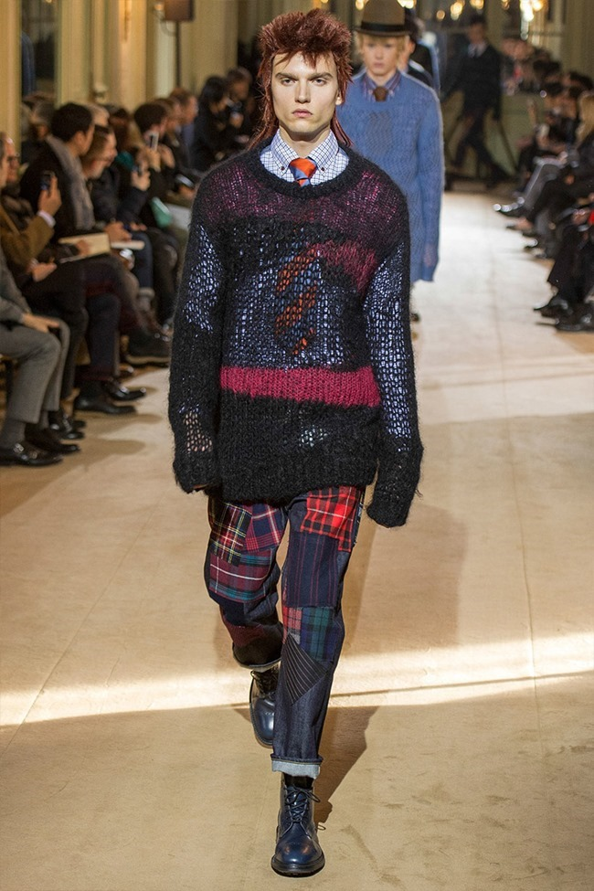 PARIS FASHION WEEK Junya Watanabe Menswear Fall 2014. www.imageamplified.com, Image Amplified (2)