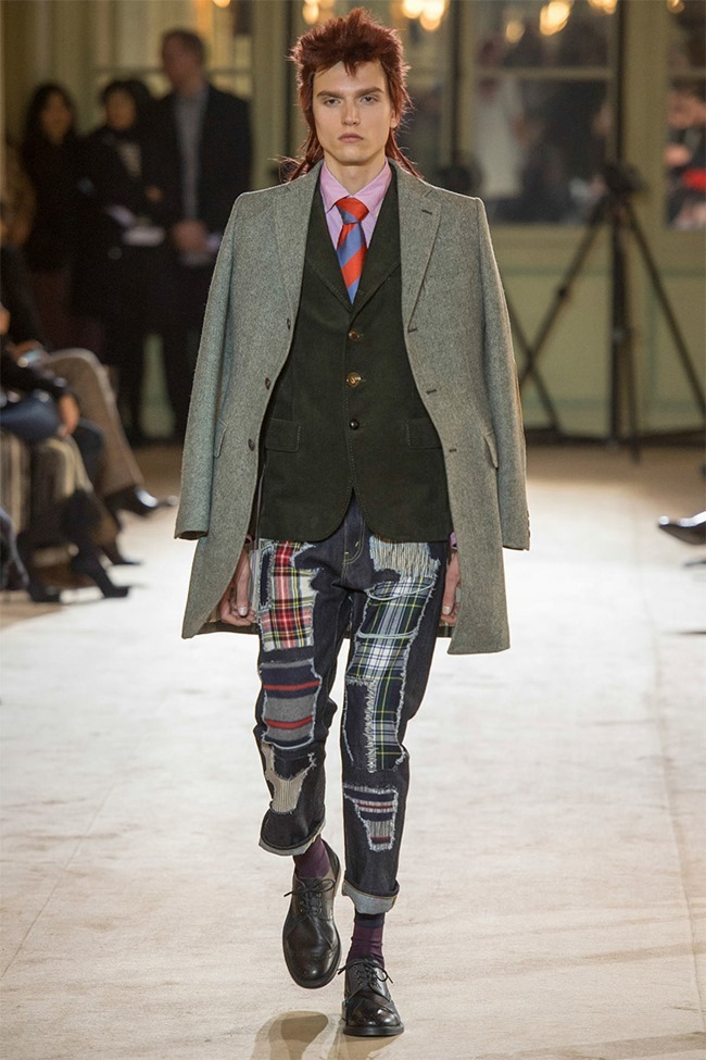 PARIS FASHION WEEK Junya Watanabe Menswear Fall 2014. www.imageamplified.com, Image Amplified (11)
