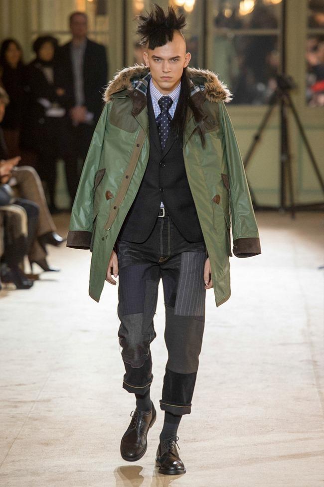 PARIS FASHION WEEK Junya Watanabe Menswear Fall 2014. www.imageamplified.com, Image Amplified (16)