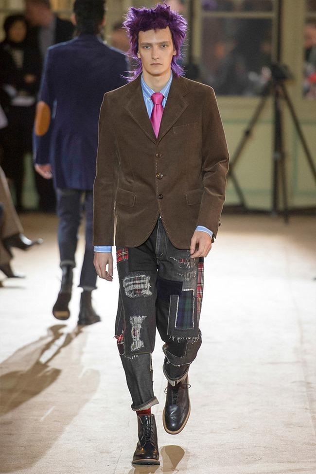 PARIS FASHION WEEK Junya Watanabe Menswear Fall 2014. www.imageamplified.com, Image Amplified (17)