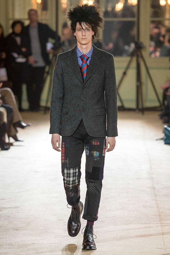 PARIS FASHION WEEK Junya Watanabe Menswear Fall 2014. www.imageamplified.com, Image Amplified (18)
