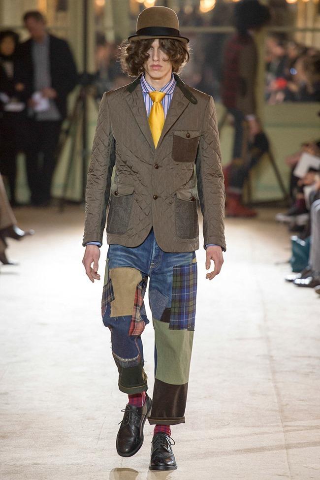 PARIS FASHION WEEK Junya Watanabe Menswear Fall 2014. www.imageamplified.com, Image Amplified (19)