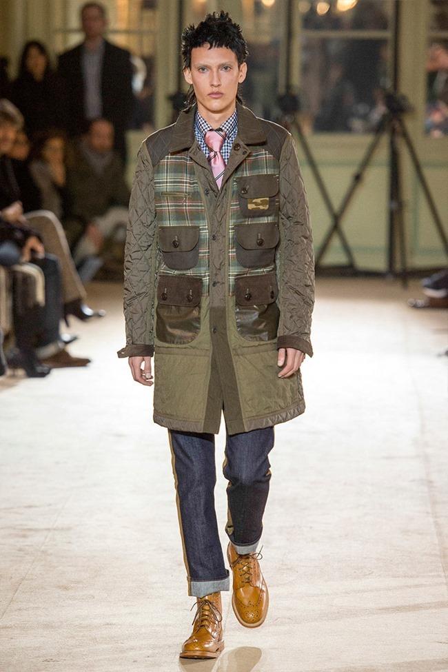 PARIS FASHION WEEK Junya Watanabe Menswear Fall 2014. www.imageamplified.com, Image Amplified (24)