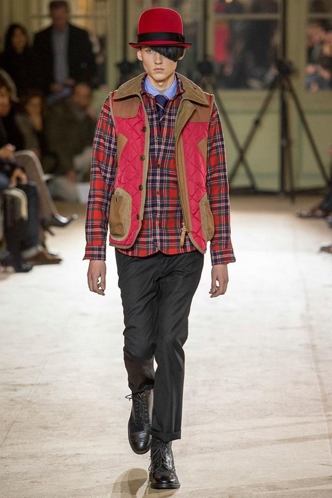 PARIS FASHION WEEK Junya Watanabe Menswear Fall 2014. www.imageamplified.com, Image Amplified (25)