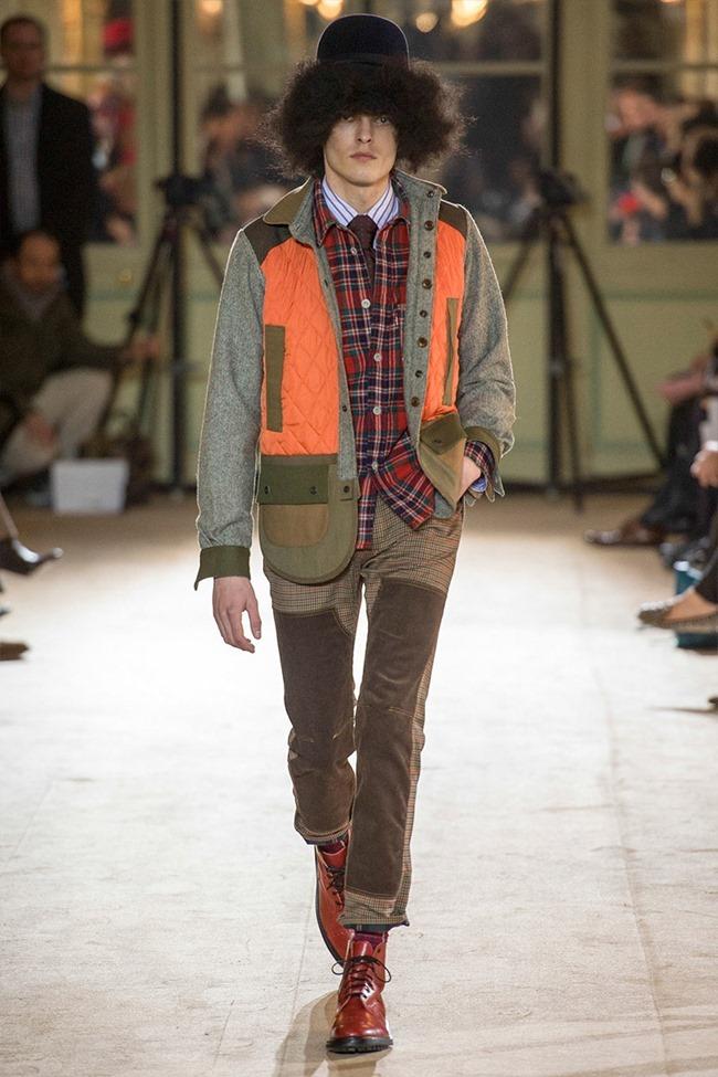 PARIS FASHION WEEK Junya Watanabe Menswear Fall 2014. www.imageamplified.com, Image Amplified (26)