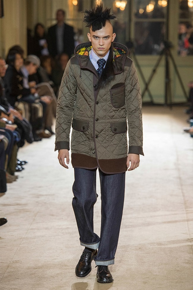 PARIS FASHION WEEK Junya Watanabe Menswear Fall 2014. www.imageamplified.com, Image Amplified (27)