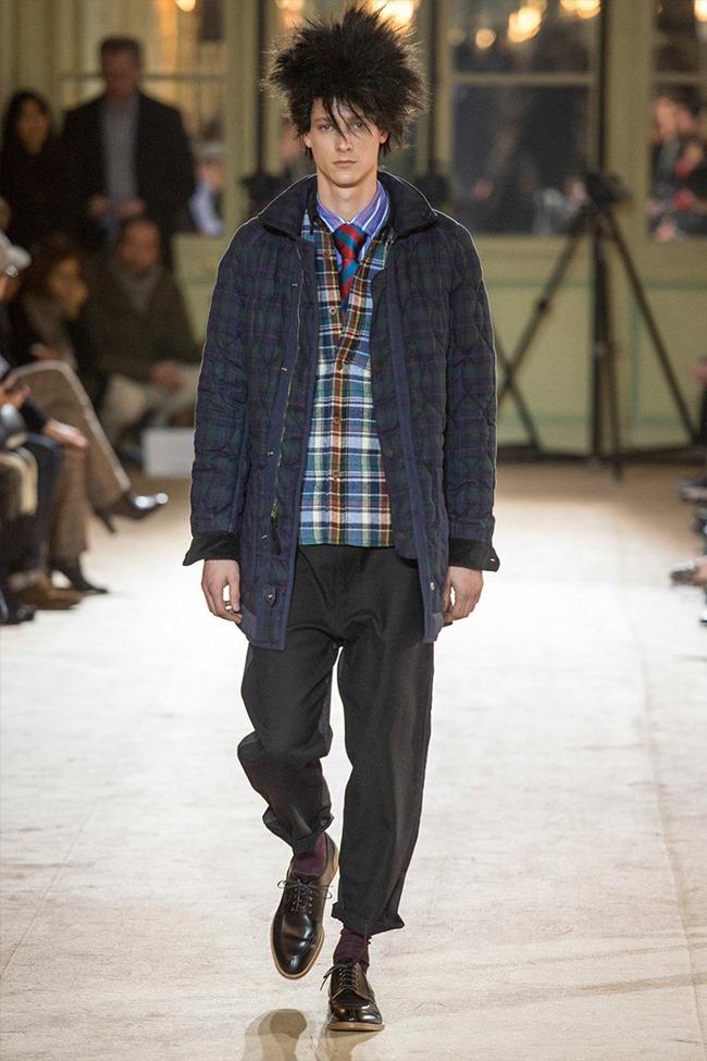 PARIS FASHION WEEK Junya Watanabe Menswear Fall 2014. www.imageamplified.com, Image Amplified (29)