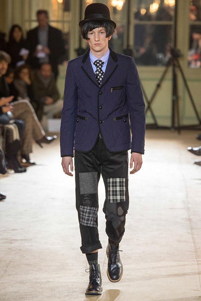 PARIS FASHION WEEK Junya Watanabe Menswear Fall 2014. www.imageamplified.com, Image Amplified (33)