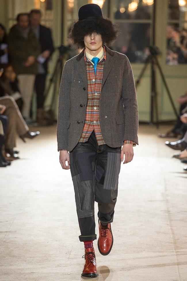 PARIS FASHION WEEK Junya Watanabe Menswear Fall 2014. www.imageamplified.com, Image Amplified (38)