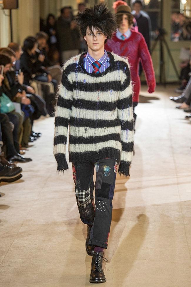 PARIS FASHION WEEK Junya Watanabe Menswear Fall 2014. www.imageamplified.com, Image Amplified (41)
