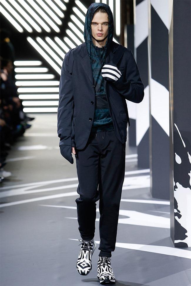PARIS FASHION WEEK Y-3 Menswear Fall 2014. www.imageamplified.com, Image Amplified (1)