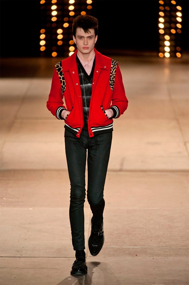 PARIS FASHION WEEK Saint Laurent Fall 2014. www.imageamplified.com, Image Amplified (27)
