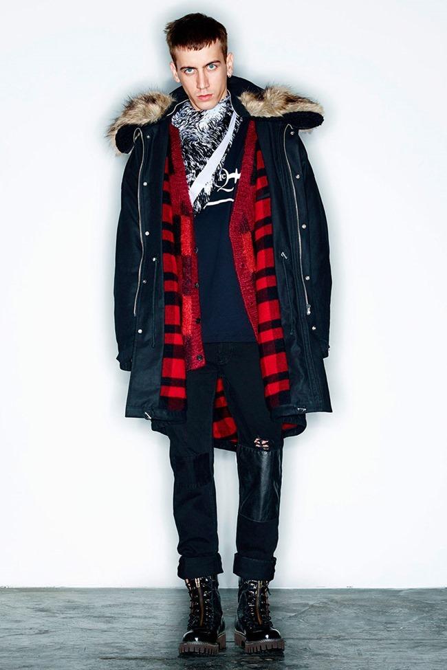 PARIS FASHION WEEK McQ Menswear Fall 2014. www.imageamplified.com, Image Amplified (1)
