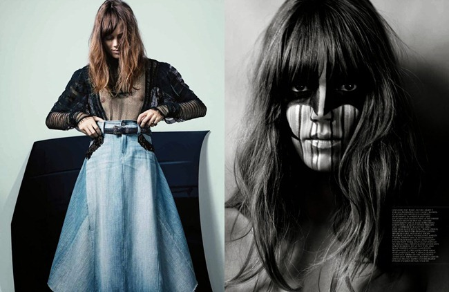 INTERVIEW MAGAZINE- Freja Beha Erichsen in Fade Black by Craig McDean. Karl Templer, January 2014, www.imageamplified.com, Image amplified (5)