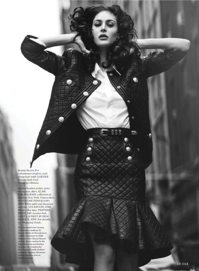 ELLE MAGAZINE- Maud Le Fort in Street Cred by David ellemere. Samira Nasr, January 2013, www.imageamplified.com, image Amplified (9)
