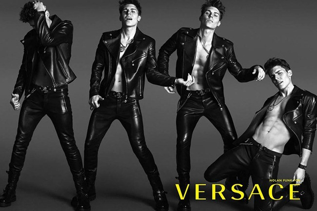 CAMPAIGN- Nolan Funk for Versace Spring 2014 by Mert & Marcus. David Bradshaw, www.imageamplified.com, Image Amplified (1)