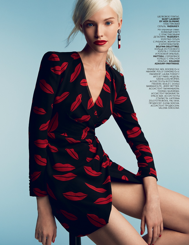 VOGUE RUSSIA- Sasha Luss in A Perfect Eye by Patrick Demarchelier. Olga Dunina, January 2014, www.imageamplified.com, Image Amplified (7)