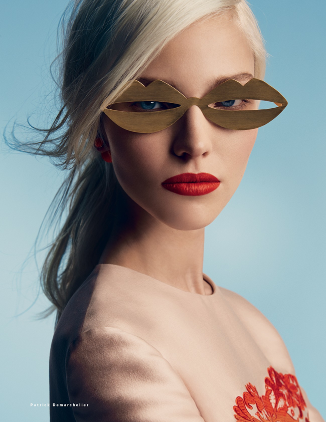 VOGUE RUSSIA- Sasha Luss in A Perfect Eye by Patrick Demarchelier. Olga Dunina, January 2014, www.imageamplified.com, Image Amplified (3)