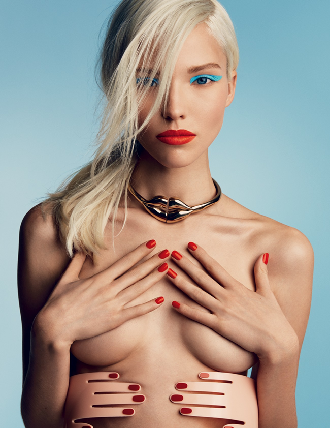 VOGUE RUSSIA- Sasha Luss in A Perfect Eye by Patrick Demarchelier. Olga Dunina, January 2014, www.imageamplified.com, Image Amplified (4)