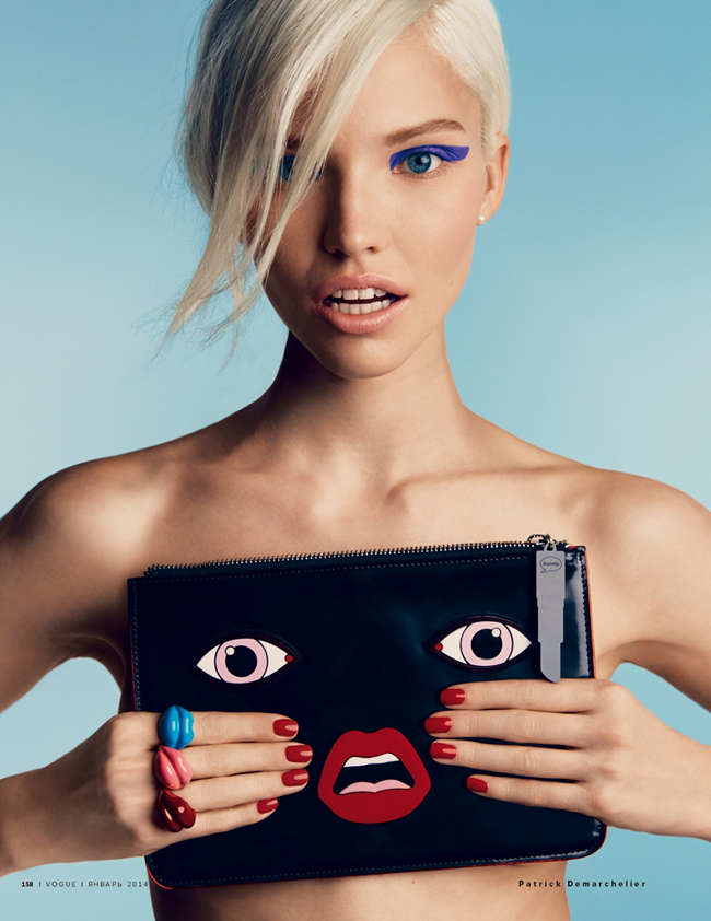 VOGUE RUSSIA- Sasha Luss in A Perfect Eye by Patrick Demarchelier. Olga Dunina, January 2014, www.imageamplified.com, Image Amplified (6)
