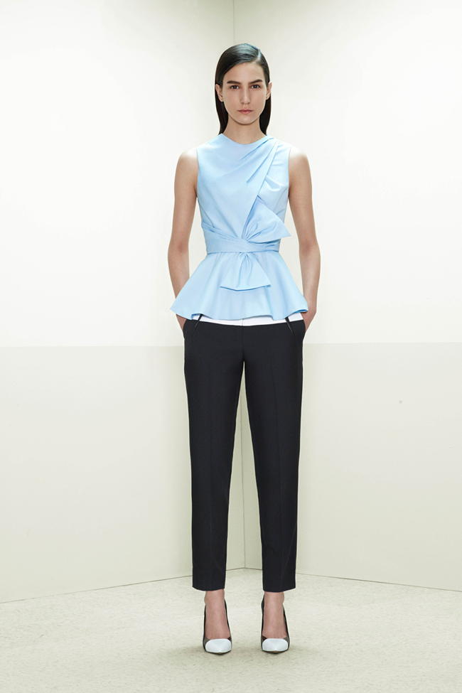 COLLECTION- Mijo Mihalijcic, Linn Arvidsson & Grace Mahary for Prabal Gurung Pre-Fall 2014. www.imageamplified.com, Image Amplified (3)