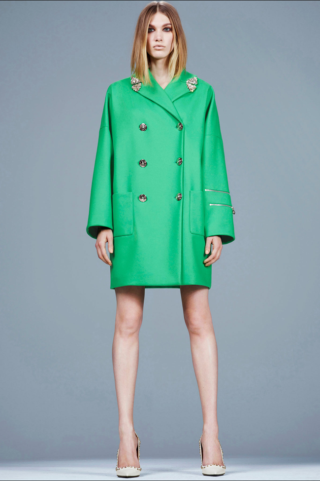 COLLECTION- Irina Nikolaeva for Versace Pre-Fall 2014. www.imageamplified.com, Image Amplified (7)