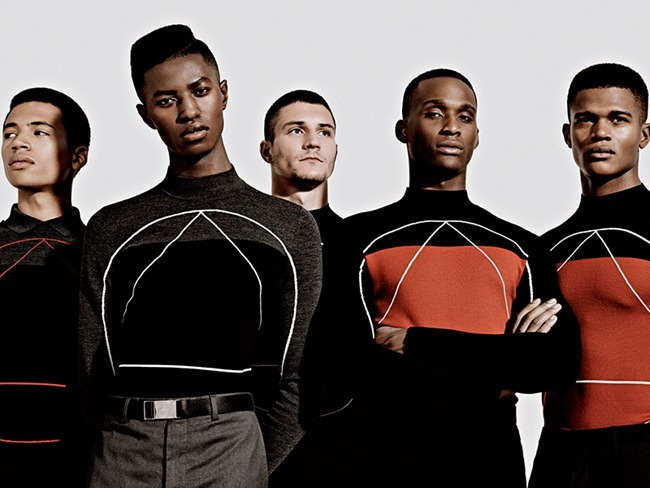METAL MAGAZINE- Rory Smith, Ben Davidson, Jamie Baash-Mensah, Jamal Gordon Lynch, Ben Howard, Daniel Stowe, Illan Raes, Harry Pulley, Henry & O'shea by Neil Bedford. Santi Rodriguez, Fall 2013, www.imageamplified.com, Image Amplified